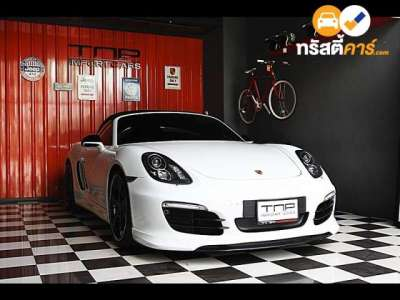 PORSCHE BOXSTER SMAC 2DR CONVERTIBLE 2.7I 7AT 2013