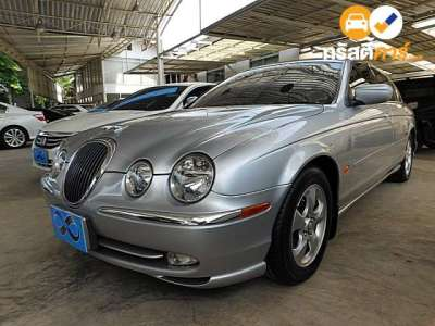 JAGUAR S-TYPE LUXURY 4DR SEDAN 2.5I 6AT 2001