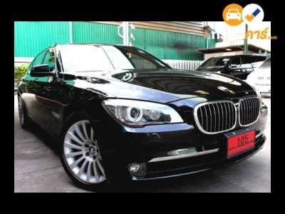 BMW Series 7 STEPTRONIC 740LI 4DR SEDAN 3.0ITT 6AT 2012