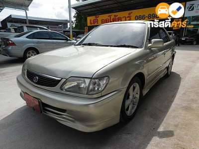 TOYOTA SOLUNA SLI 4DR SEDAN 1.5I 4AT 2001