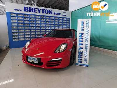 PORSCHE BOXSTER SMAC 2DR CONVERTIBLE 2.7I 7AT 2012