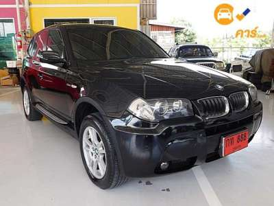 BMW X3 STEPTRONIC 4DR SUV 2.5I 5AT 2007