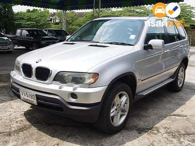 BMW X5 STEPTRONIC 4DR SUV 3.0I 5AT 2003