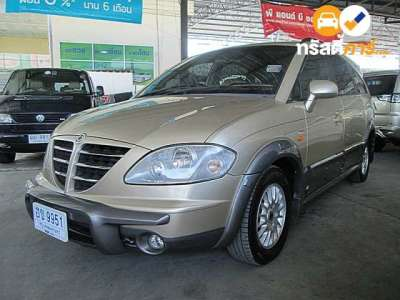 SSANGYONG STAVIC SV270 11ST 4DR WAGON 2.7DCT 5AT 2006