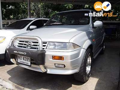 SSANGYONG MUSSO 602 EL 4DR WAGON 2.9D 4AT 1998