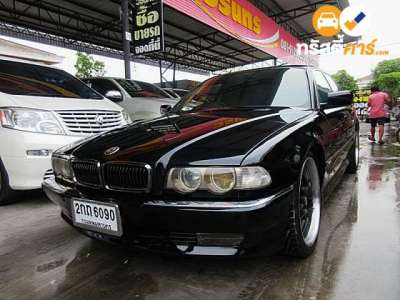 BMW Series 7 730IL 4DR SEDAN 3.0I 4AT 1996