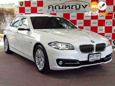 BMW Series 5 STEPTRONIC 520D 4DR SEDAN 2.0DCT 8AT 2015