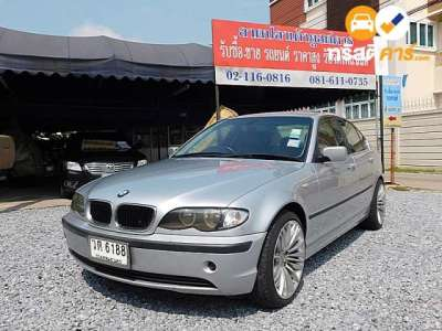 BMW Series 3 SE STEPTRONIC 323I 4DR SEDAN 2.4I 5AT 2002
