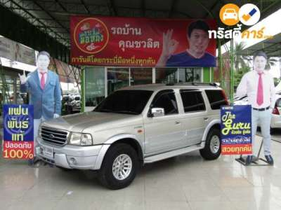 FORD EVEREST XLT 7ST 4DR SUV 2.5DTI 5MT 2006