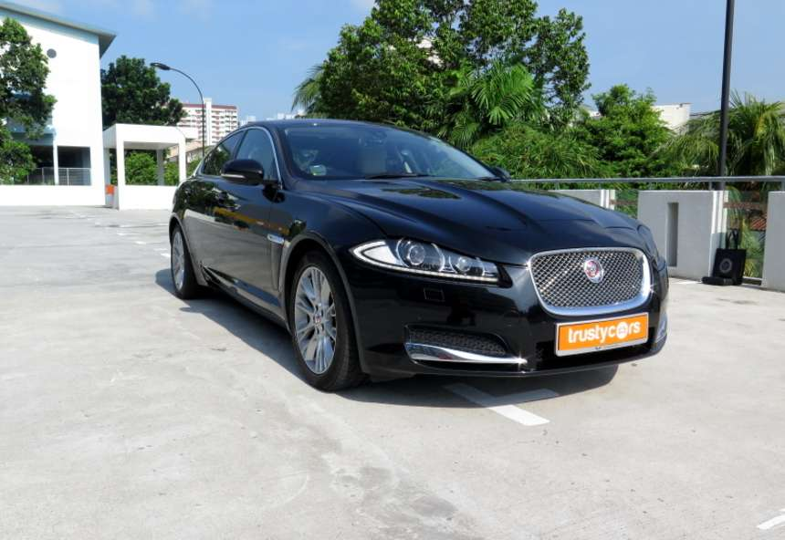 Image of #LT5409 Jaguar XF 2.2D