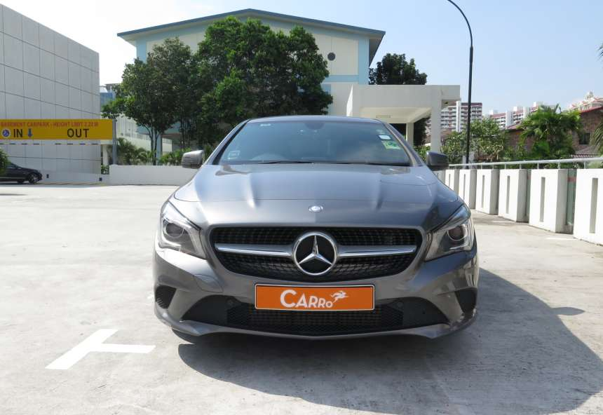 Image of #TM8621 Mercedes-Benz CLA180