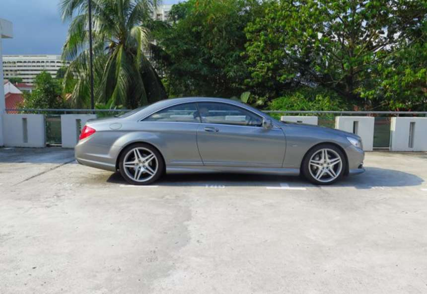 Image of #OY2425 Mercedes-Benz CL500
