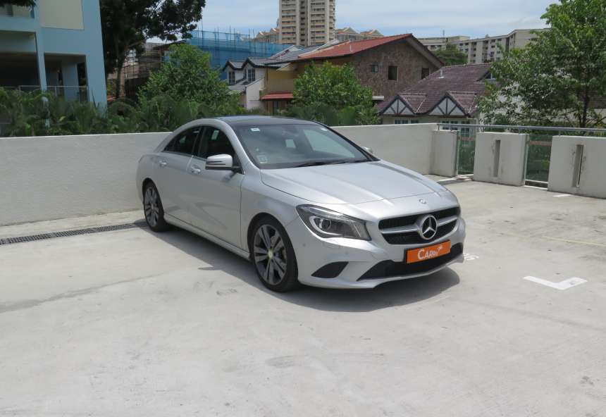 Image of #EL4789 Mercedes-Benz CLA200