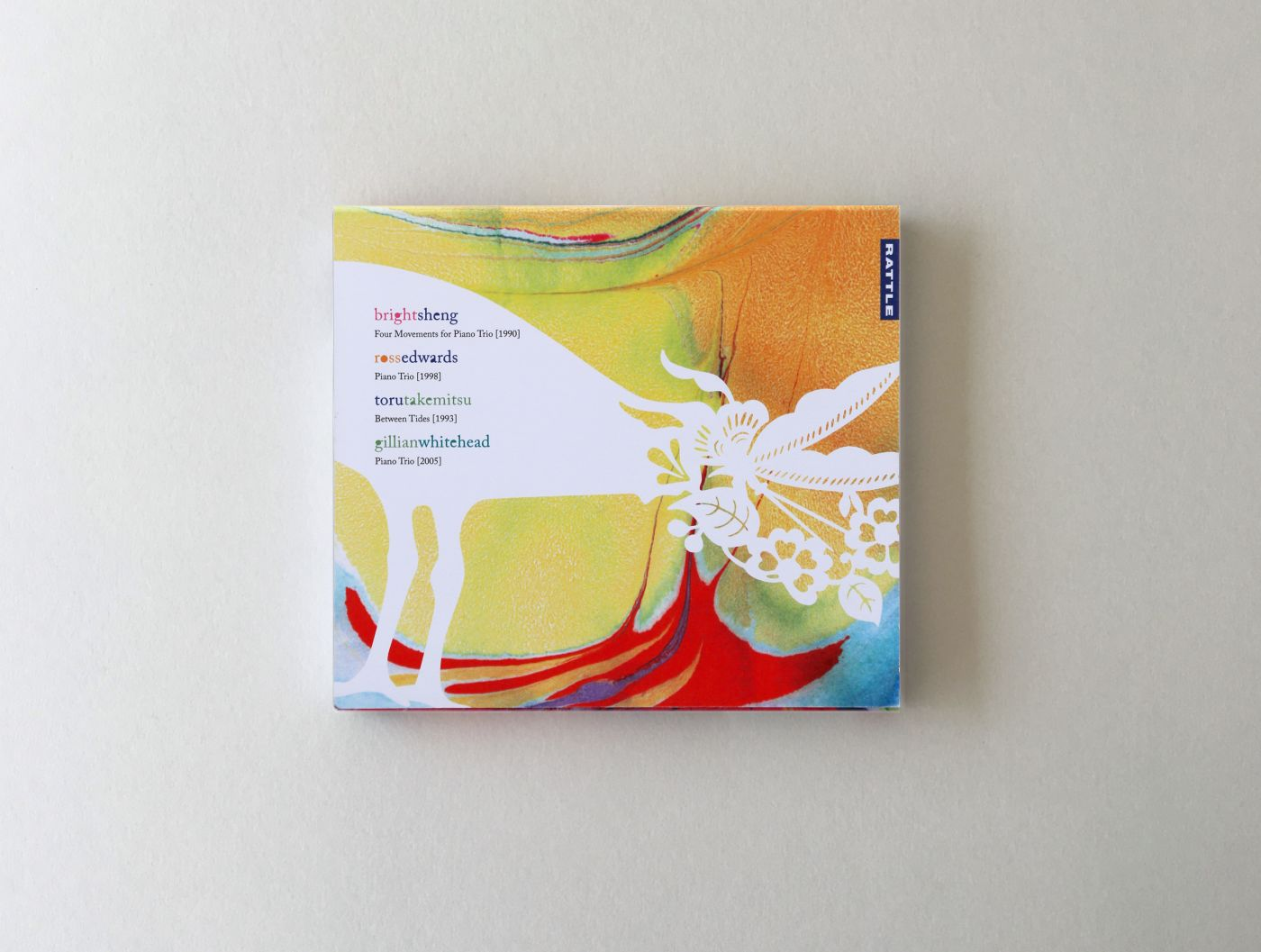 NZTrio CD cover back