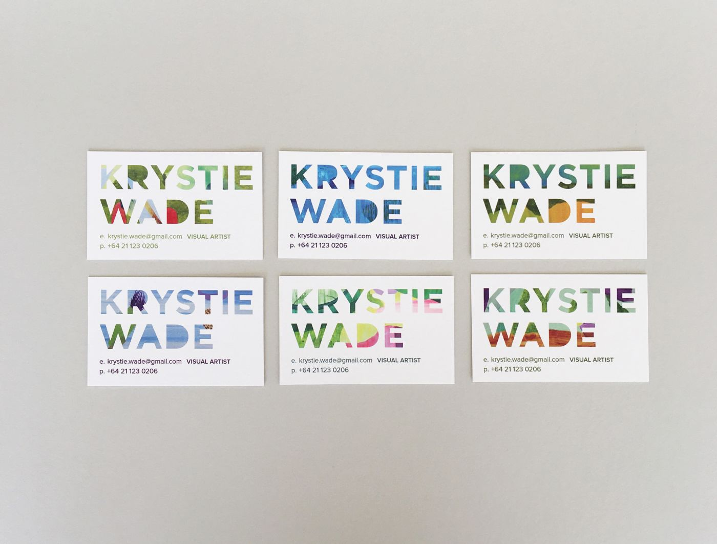 Krystie Wade Business Cards