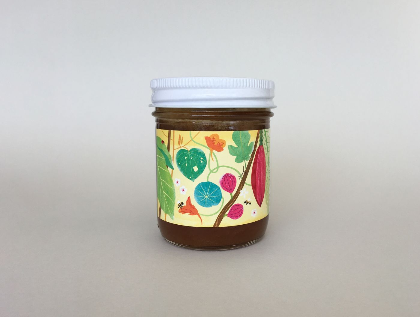 Siema Organics Honey Label