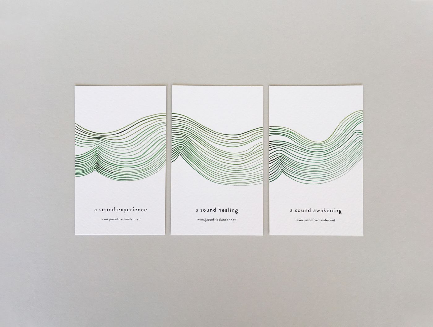 Jason Friedlander business cards