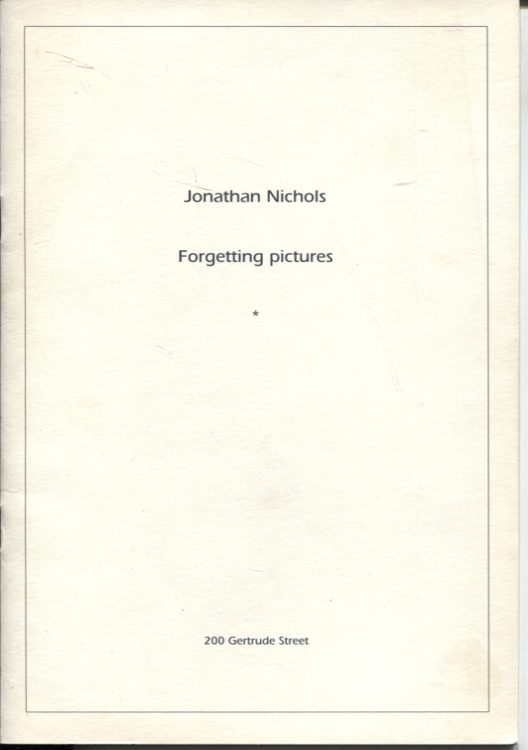 Image for FORGETTING PICTURES