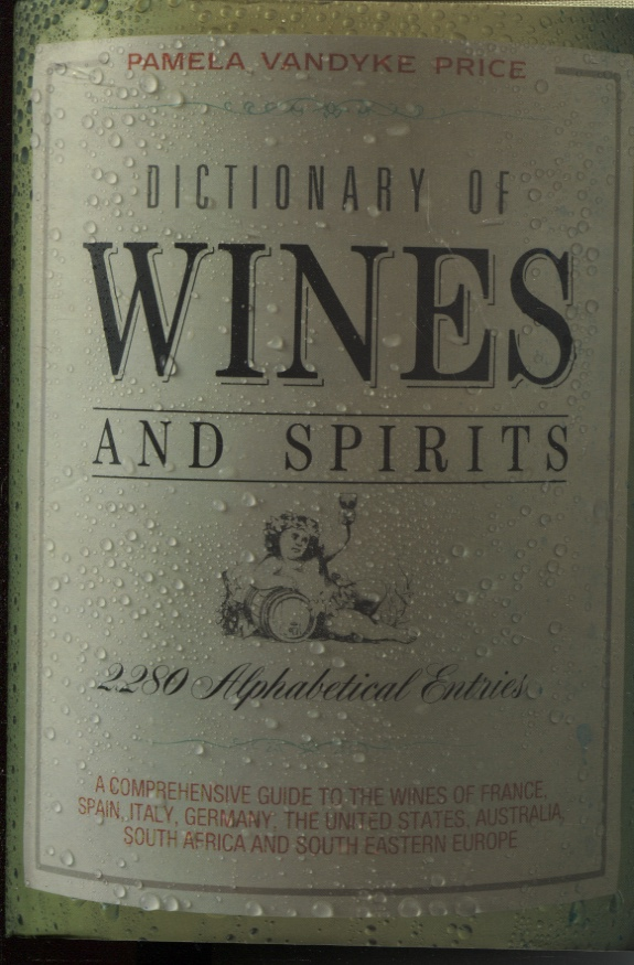 Image for Dictionary Of Wines And Spirits