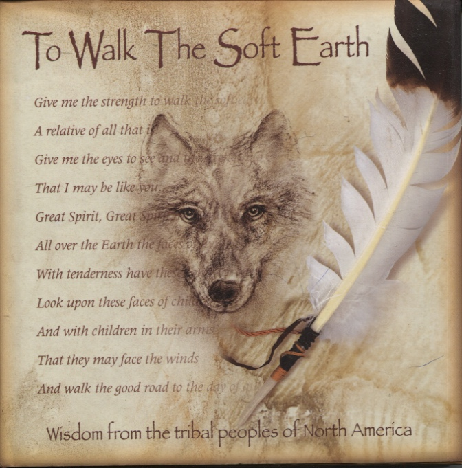Image for TO WALK THE SOFT EARTH Wisdom from the Tribal Peoples of North America