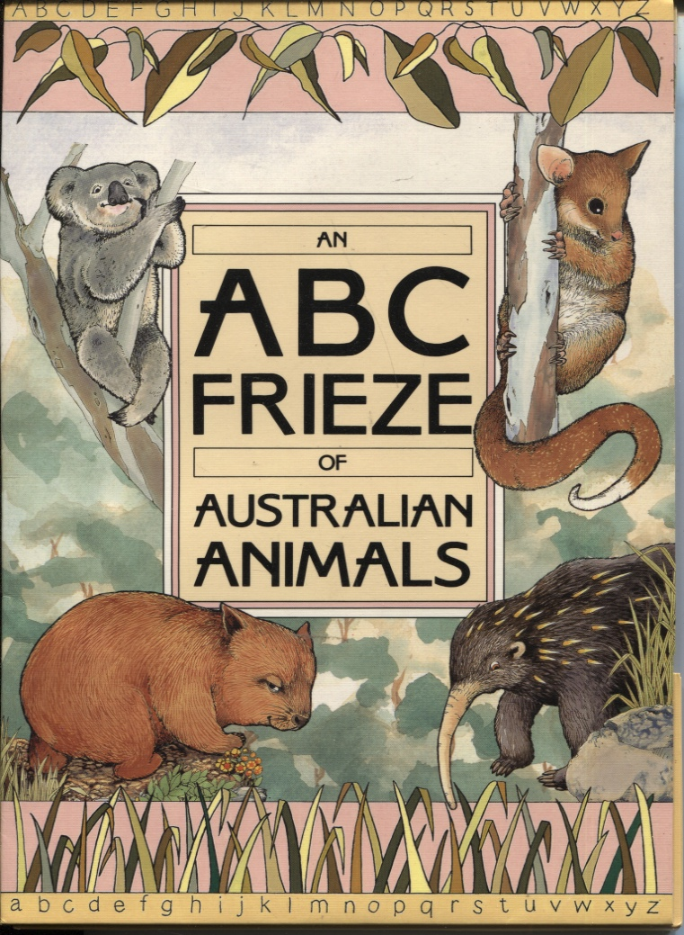 Image for AN ABC FRIEZE OF AUSTRALIAN ANIMALS