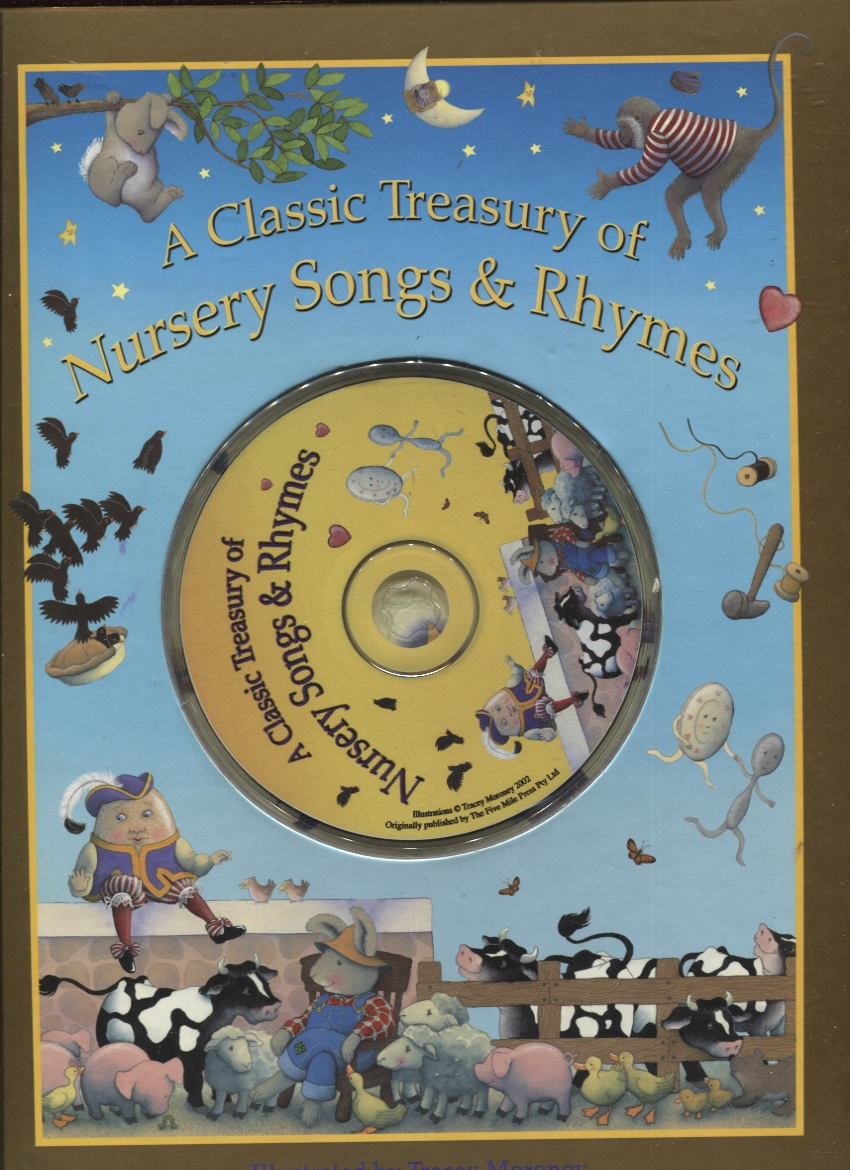 Image for Classic Treasury of Nursery Songs and Rhymes With Cd