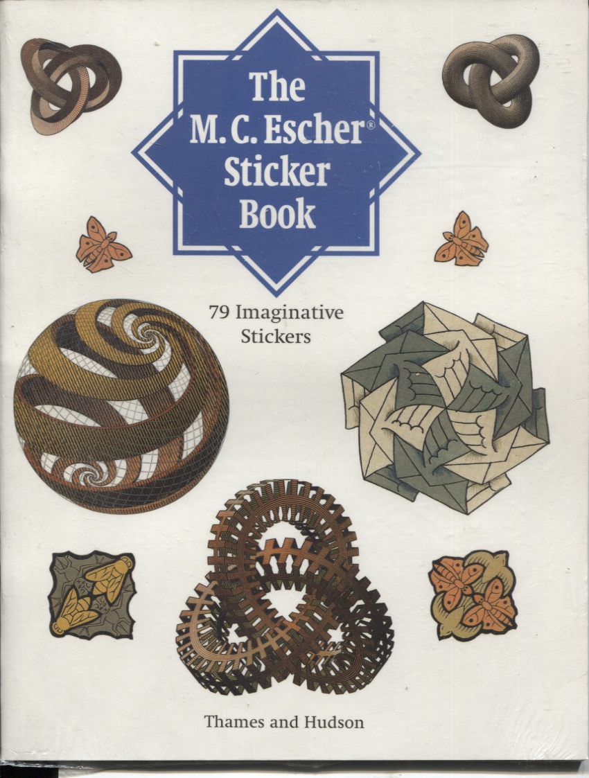 Image for M.C. ESCHER STICKER BOOK: 79 IMAGINATIVE STICKERS