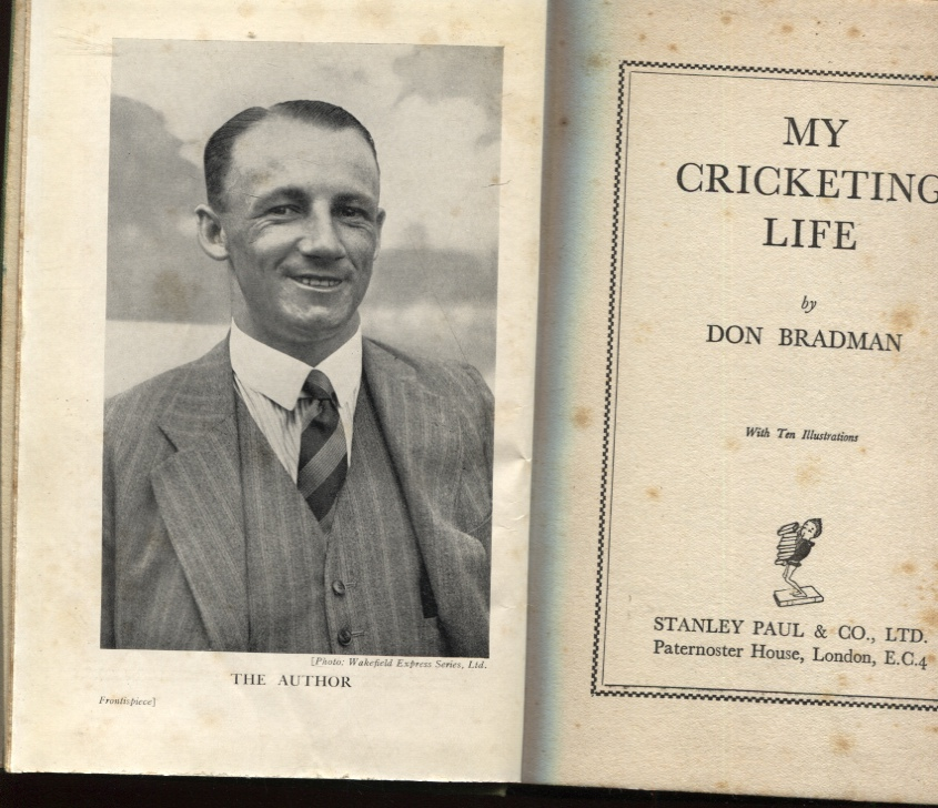 Image for MY CRICKETING LIFE With Ten Illustrations