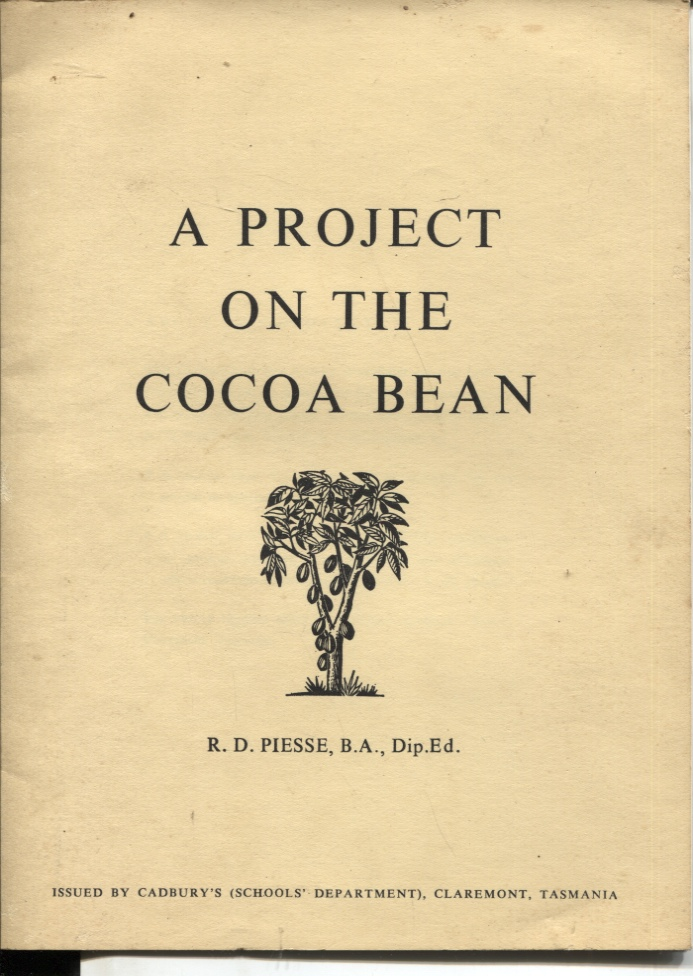 Image for A PROJECT ON THE COCOA BEAN