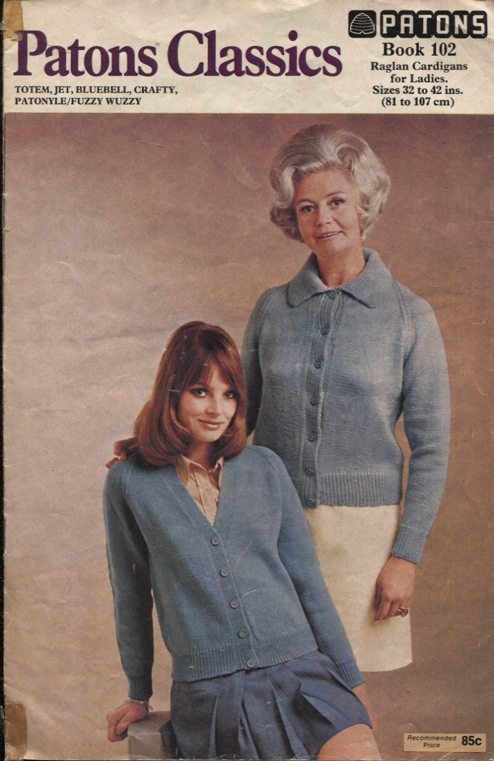 Image for PATONS CLASSICS: RAGLAN CARDIGANS FOR LADIES