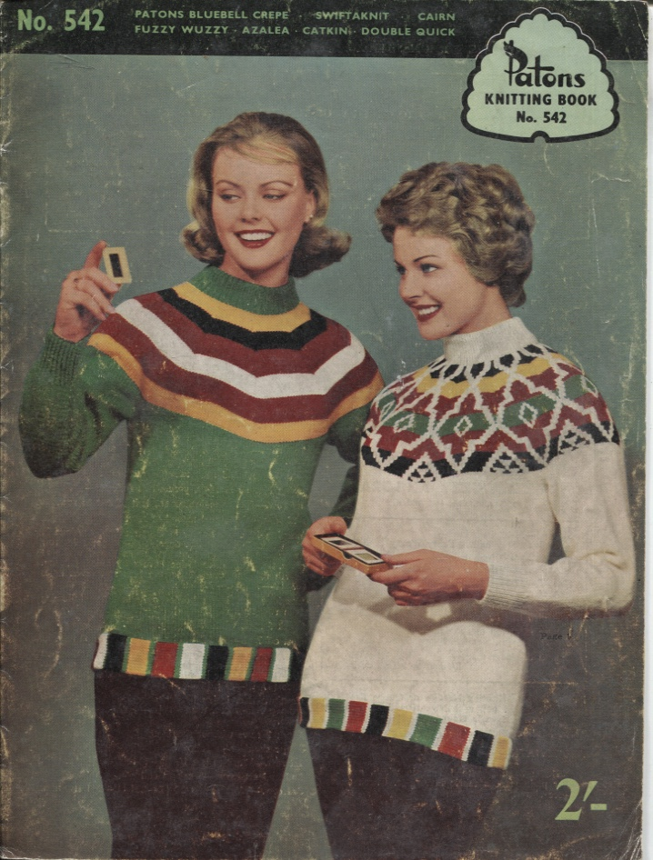Image for PATONS KNITTING BOOK. NO 542