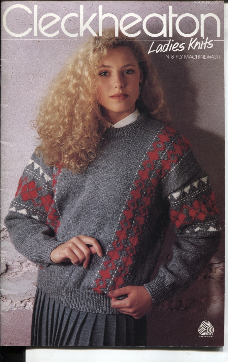 Image for CLECKHEATON LADIES KNITS IN 8 PLY MACHINE WASH