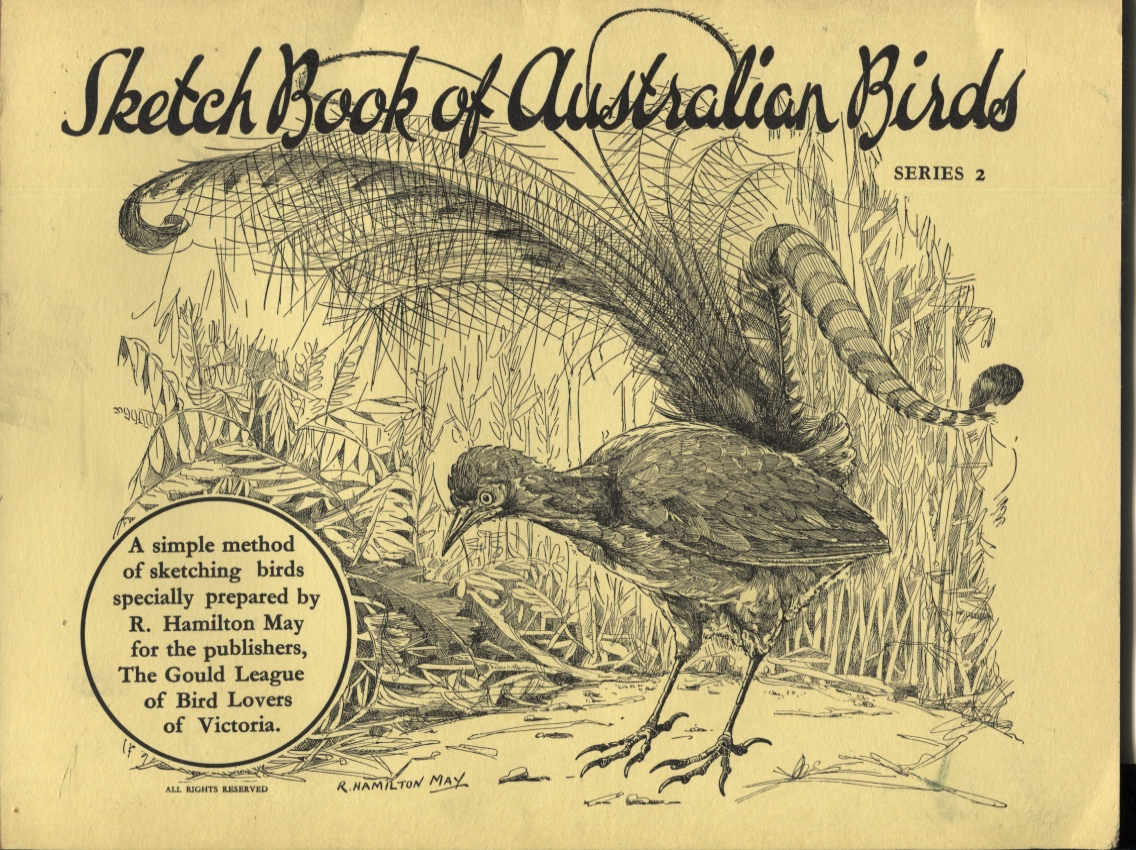 Image for SKETCH BOOK OF AUSTRALIAN BIRDS : A SIMPLE METHOD OF SKETCHING BIRDS SPECIALLY PREPARED BY R HAMITON MAY FOR THE PUBLISHERS, THE GOULD LEAGUE OF BIRD LOVERS OF VICTORIA Series 2