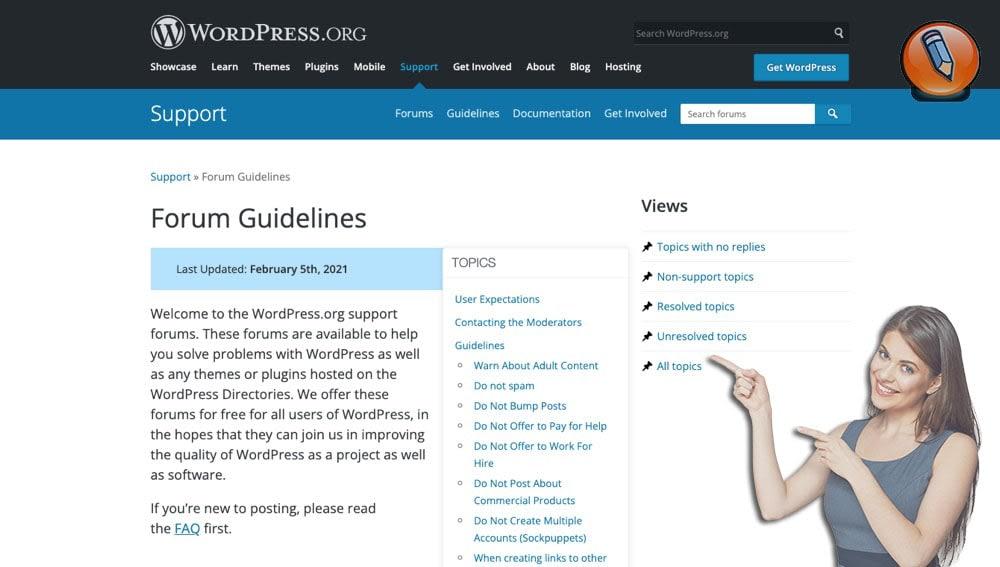 Форум WordPress: (100)% Руководство Эффективного Управления