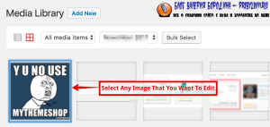 How To Edit Image In Library Select any image that you want to edit