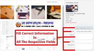 How to fix common image issues in WordPress Alt Text description alt text and caption