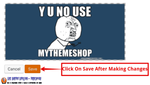 How To Edit Image In Library Save Changes