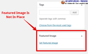 How to fix common image issues in WordPress Featured Image Isnt In Place