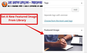 How to fix common image issues in WordPress set a new featured image from library