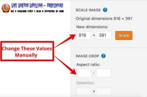 How To Edit Image In Library change these values manually