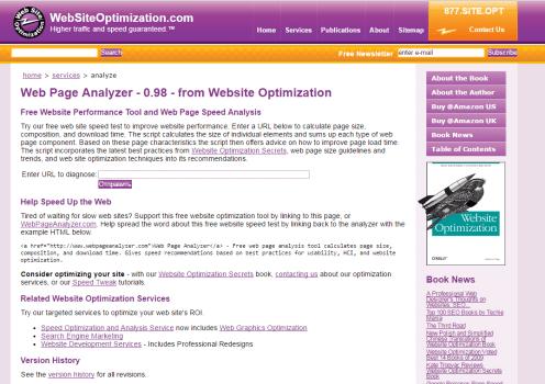 WebPage Analyzer