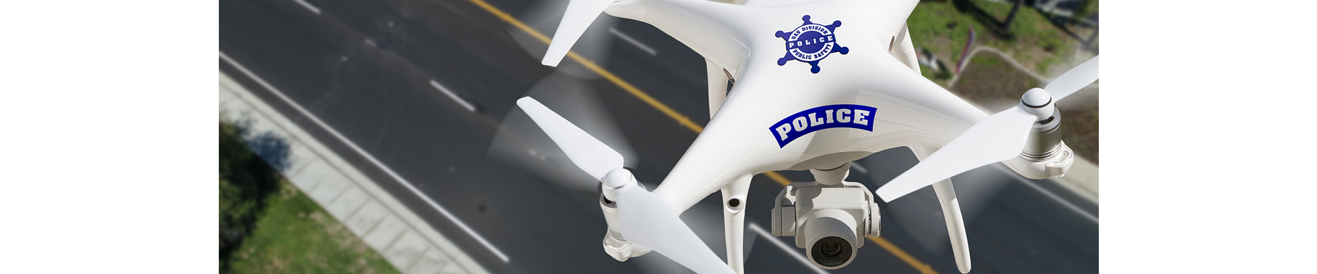 O drona a devenit cheia unei urmariri ale politiei
