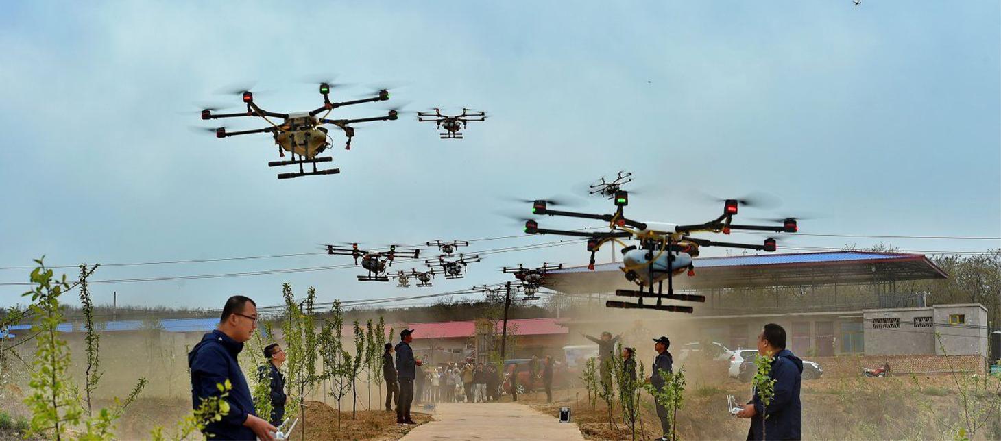 Spania este prima natiune europeana care combate coronavirusul cu drone agricole