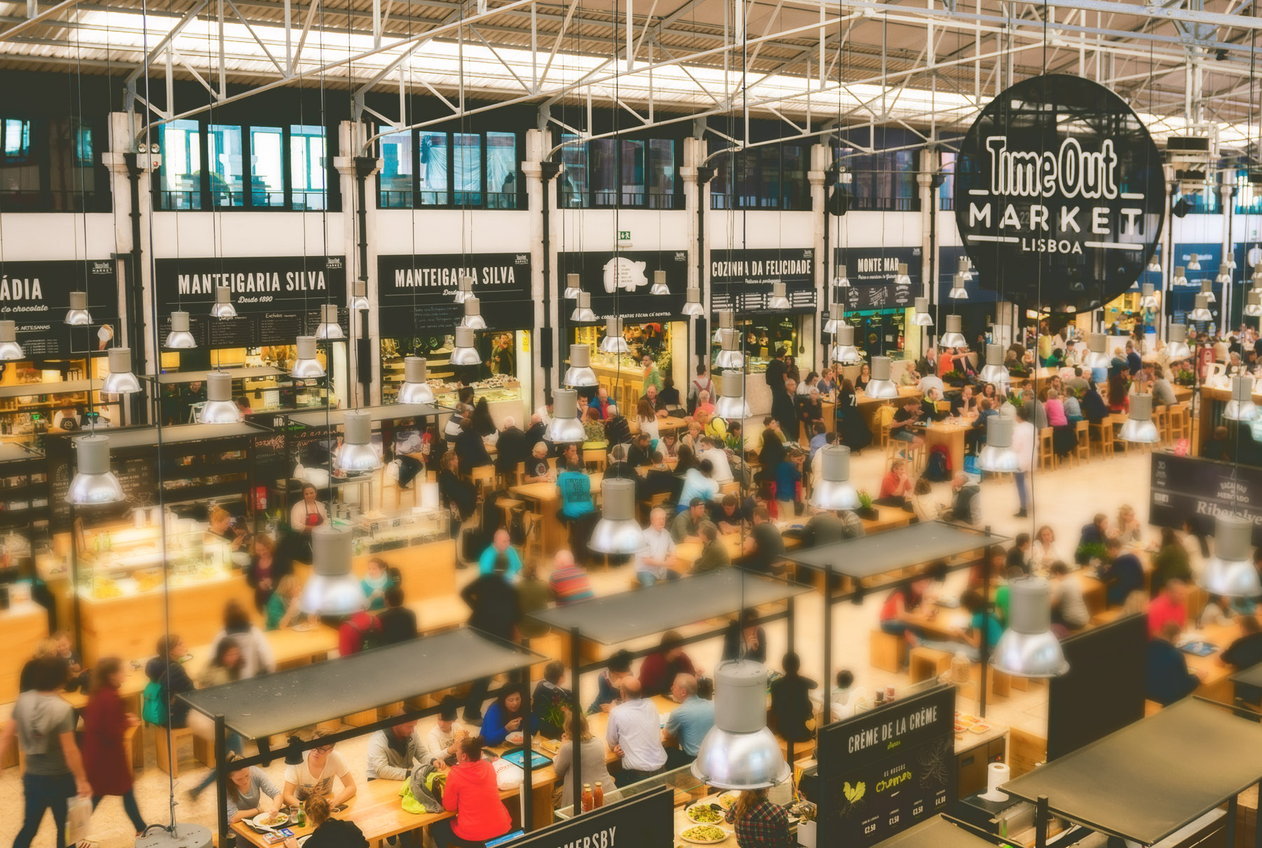 Time Out Market – Lisbon - Interior