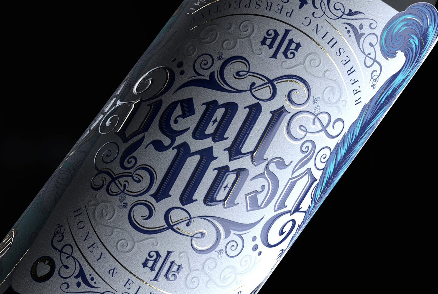 Beau Nash - bottle label