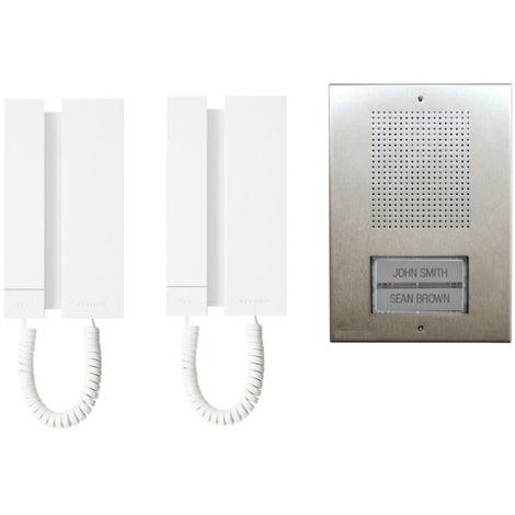 KAE5061 COMELIT KIT INTERPHONE EXTRA MINI 5 FILS MAISON UNIFAMILIALE