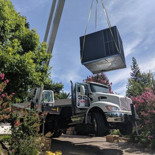 Crane Service Davis