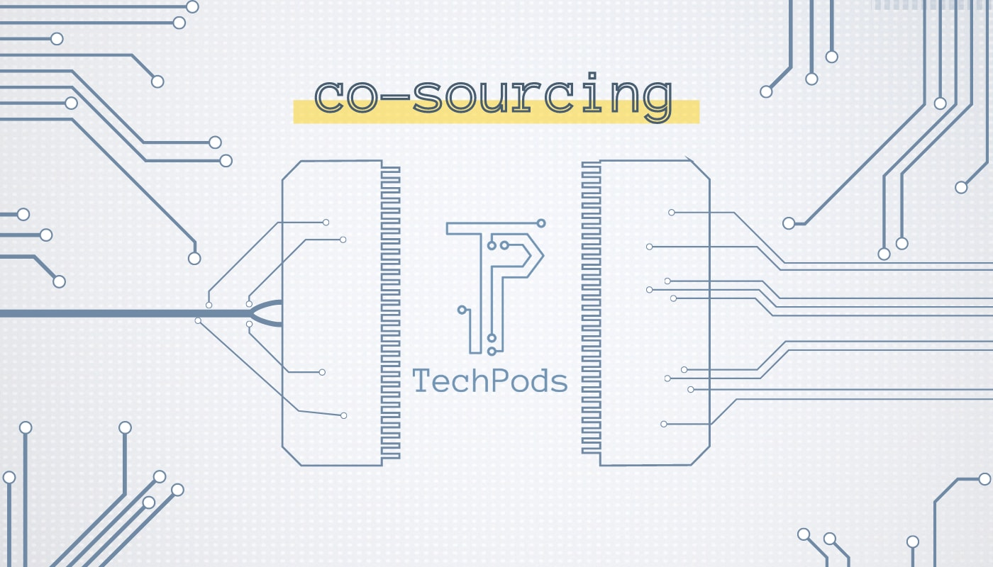 Co-sourcing not outsourcing