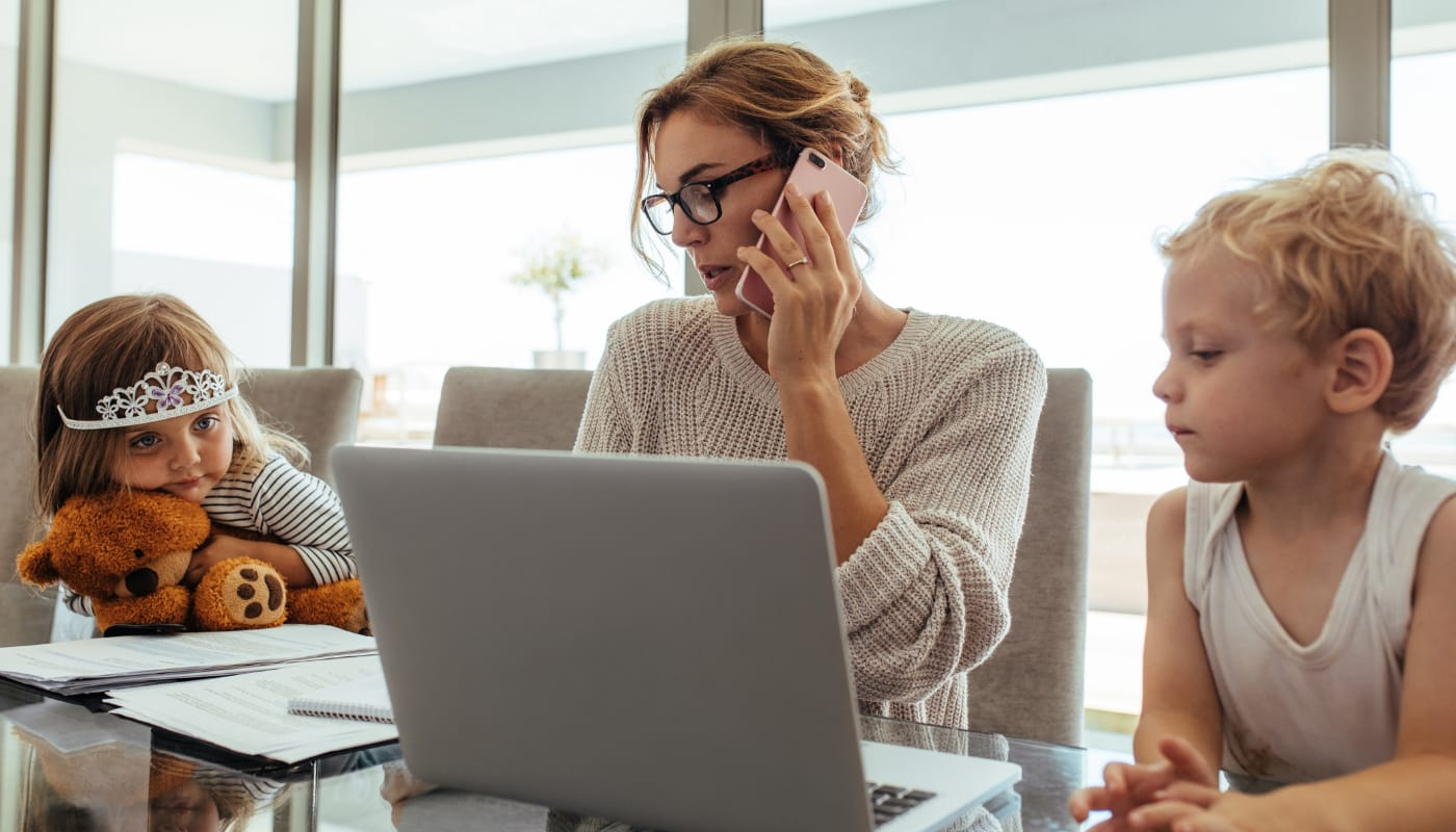 how to support your employees during a crisis working from home image