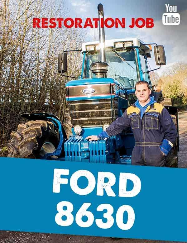 Ford 8630 restoration
